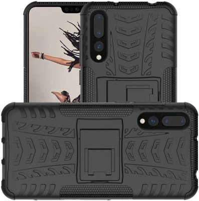 Case Creation Front & Back Case for Huawei P20 Plus(Black, Sound Amplifying Case)
