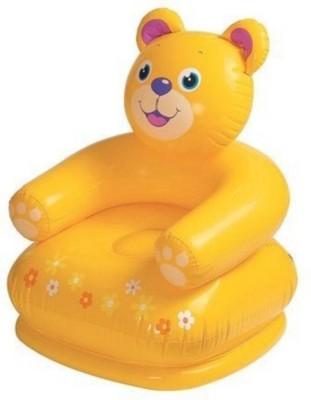 AR Enterprises PVC 1 Seater Inflatable Sofa(Color - Orange)