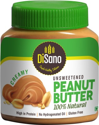 Disano Unsweetened Peanut Butter 100% Natural Creamy 1kg 1 kg