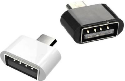 V8OTG Micro USB OTG Adapter(Pack of 2)