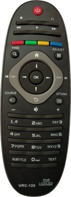 Axelleindia Compatible Replacement Remote Philips Remote Controller(Black)