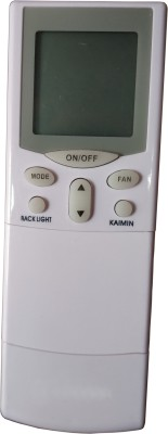 Axelleindia Compatible Replacement Universal AC Remote with Back Light and Stand Hitachi Remote Controller(White)