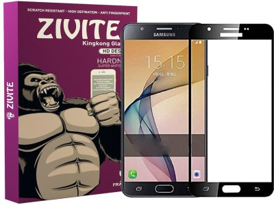 ZIVITE Edge To Edge Tempered Glass for Samsung Galaxy J7 2016, J710(Pack of 1)