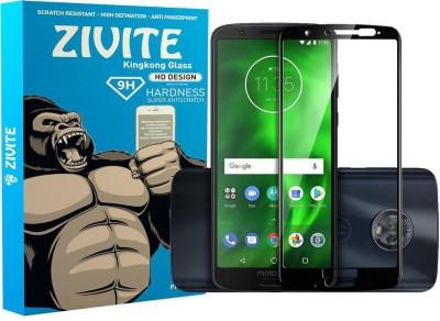 ZIVITE Edge To Edge Tempered Glass for Motorola Moto G6 Plus(Pack of 1)