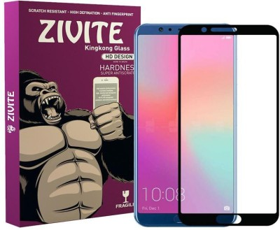 ZIVITE Edge To Edge Tempered Glass for Huawei Honor V10(Pack of 1)