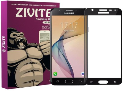 ZIVITE Edge To Edge Tempered Glass for Samsung Galaxy J5 Prime(Pack of 1)