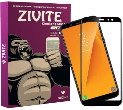 ZIVITE Edge To Edge Tempered Glass for Samsung Galaxy A6 Plus(Pack of 1)