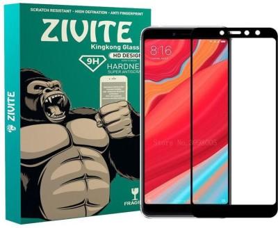 ZIVITE Edge To Edge Tempered Glass for Motorola Moto E5 Plus(Pack of 1)