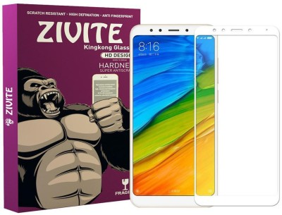 ZIVITE Edge To Edge Tempered Glass for Mi Redmi Note 5(Pack of 1)