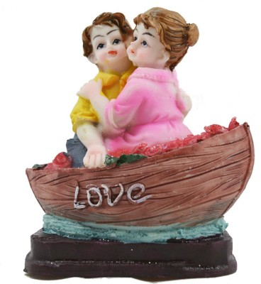 54 Off On Crafts For You Baby Couple In Boat Statue Figurine Showpiece Anniversary Birthday Gifts For Girlfriend Boyfriend Husband Decorative Showpiece 10 Cm Polyresin Multicolor On Flipkart Paisawapas Com