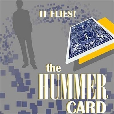 MilesMagic Magician's The Hummer Card Trick It Spin, Fly, Float A Real Floating Magic Trick 1 Magic Tricks(Age: 5 to 45 years)