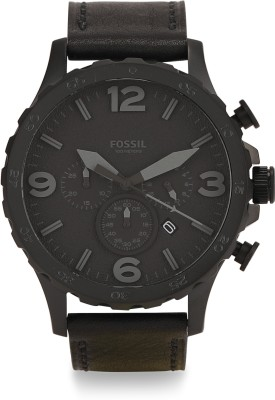 Fossil JR1354 NATE Analog Watch   For Men Fossil Wrist Watches