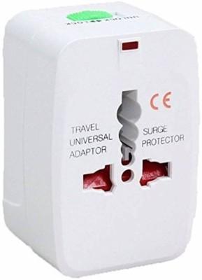 makaw International Adapter Worldwide Adaptor Worldwide Adaptor White