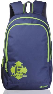 F Gear Castle - Rugged Base 24 L Backpack(Green, Purple)