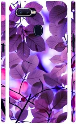 MV Back Cover for Oppo F9(Purple, Grip Case)