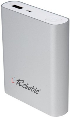 Reliable 10400 mAh Power Bank  Power Bank, RBL4 Metal Tube  Silver, Lithium ion