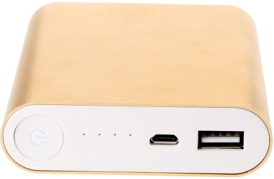 Reliable 10400 mAh Power Bank Gold, Lithium ion Reliable Power Banks