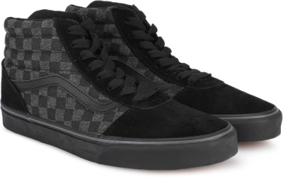 Vans Ward Hi SS19 High Tops For Men(Black, Grey) at flipkart