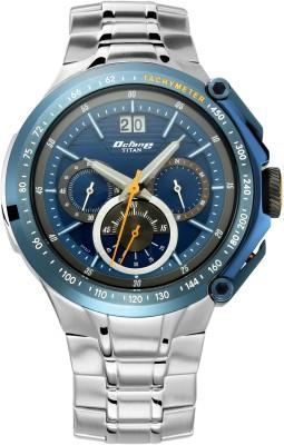 Titan 1765KM02 Octane Signature Analog Watch - For Men
