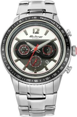 Titan 1762KM01 Octane Signature Analog Watch   For Men Titan Wrist Watches