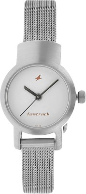 Fastrack NG2298SM02C Basics Analog Watch   For Women Fastrack Wrist Watches