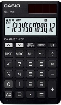 CASIO NJ-120D-BK Portable Basic Calculator(12 Digit)