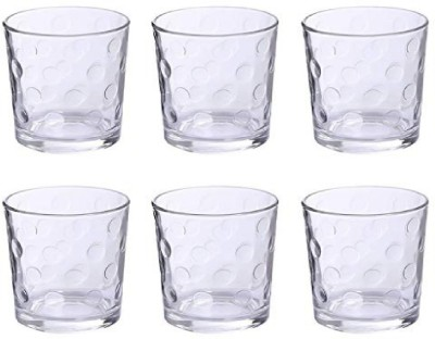 VIVAAN SMALL GLASS_6 Glass Set(Plastic, 200 ml, Clear, Pack of 6)