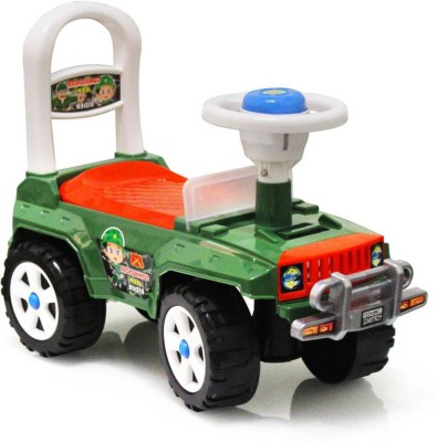 Akshat A REAL KID BABY RIDER COMMANDER JEEP RIDER FOR KIDS(Green)