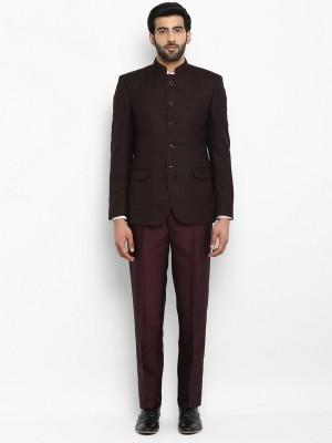 Raymond Suit Solid Men Suit at flipkart