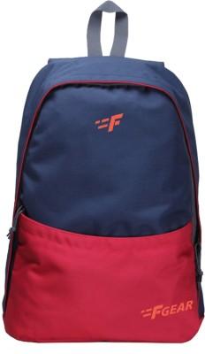 F GearSaviour 19 L Standard Backpack Red, Blue