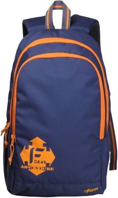 F Gear Castle - Rugged Base 24 L Standard Backpack(Blue)