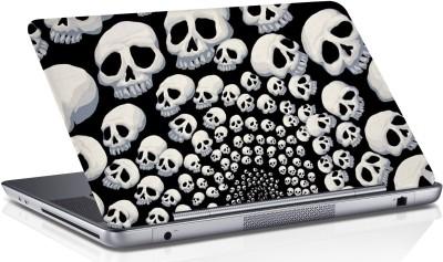 RADANYA Skull Skin Vinyl Laptop Decal 15.6