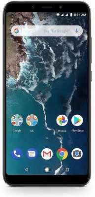 Xiaomi Mi A2 (Black, 4GB RAM, 64GB Storage)