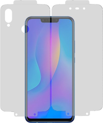 Marshland Back Screen Guard for Google Pixel 3a, TPU Protector Flexible Anti Scratch Bubble Free, Transparent(Pack of 1)