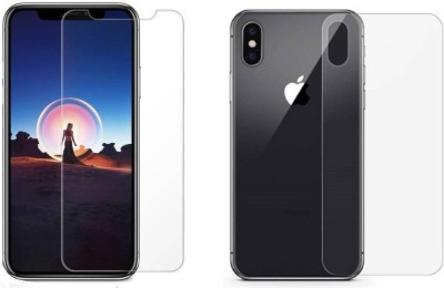 Rupana Digital Case Front and Back Screen Guard for Apple iPhone X(Pack of 1)