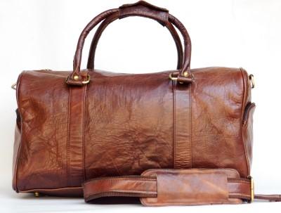 hks HKS16119E Small Travel Bag   MEDIUM Brown hks Small Travel Bags