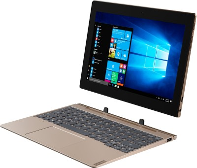Lenovo Ideapad D330 with Keyboard 64 GB 10.1 inch with Wi-Fi Only Tablet (Bronze)