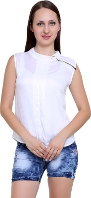 Infashion Style Casual Sleeveless Solid Women