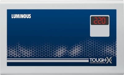 Luminous TOUGHX TA170D Voltage Stabilizer for up to 1.5 Ton AC   170V 270V  Cool Grey Luminous Voltage Stabilizers