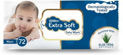 Billion Extra Soft Baby Wipes(72 Pieces)