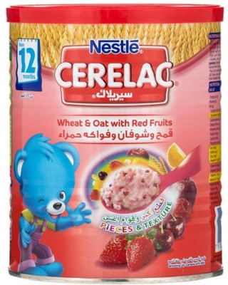 Nestle Cerel Wheat & Oat Red Fruits Imported Cereal(400 g, Pre-term)