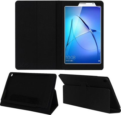 ACM Flip Cover for Huawei Honor Medipad T3 8.0(Black, Cases with Holder)
