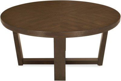 @home by Nilkamal Bernice Solid Wood Coffee Table(Finish Color - Dark Brown)
