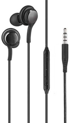 STOCKHAWKERS Premium Quality in-Ear AKG Earphones Wired Headset(Black, Wired in the ear)