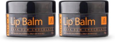 Ustraa Lip Balm for men Dark rum(Pack of: 2, 20 g)