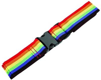 SYGA 1 Piece Cross Luggage Straps Set, Colorful Adjustable Heavy Duty Long Suitcase Belts Luggage Strap(Multicolor)