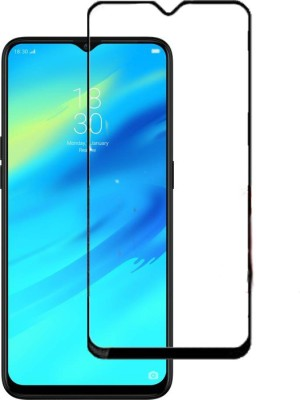Hycot + Screen Guard for Oppo Realme 2 Pro 5D Tempered Glass Black- 9H Hardness Screen Protector, Full Edge to Edge, Anti Scratch & Dust Proof with High Quality Material(Pack of 1)