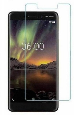 SAMARA Tempered Glass Guard for NOKIA 6.1 (5.5 INCHES)(Pack of 1)