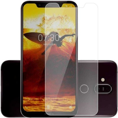 Phonedda Tempered Glass Guard for Nokia 8.1(Pack of 1)