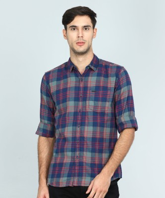 Wrangler Men Checkered Casual Multicolor Shirt at flipkart